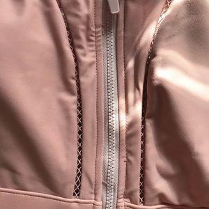 NWT ZOE zip up Fabletics sports bra